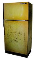 Ramassage de réfrigérateur